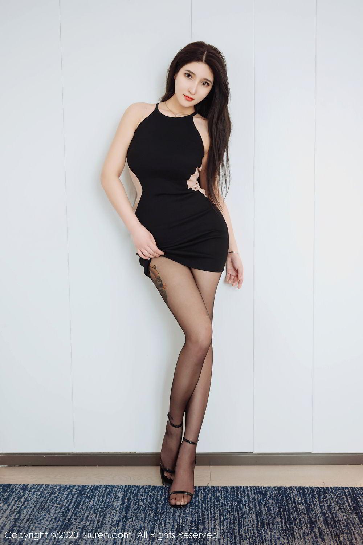 [XiuRen] Vol.2324 Shu Shu Mei Mei 52P, Black Silk, Pretty, Shu Shu Mei Mei, Xiuren