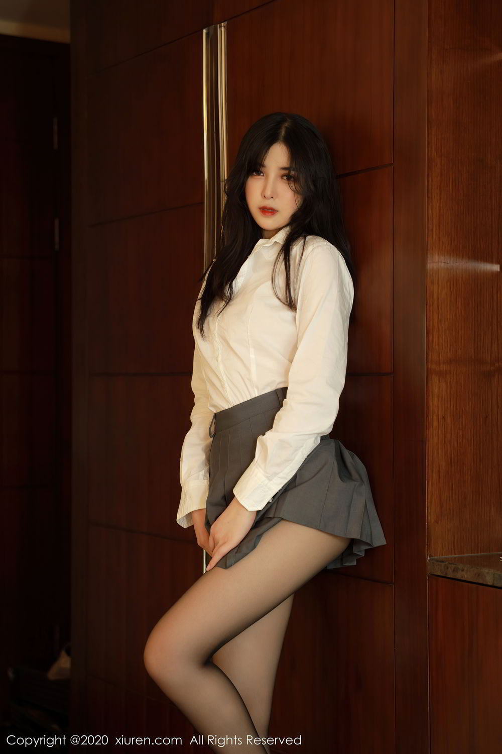 [XiuRen] Vol.2330 Han Jing An 13P, Han Jing An, Tall, Uniform, Xiuren
