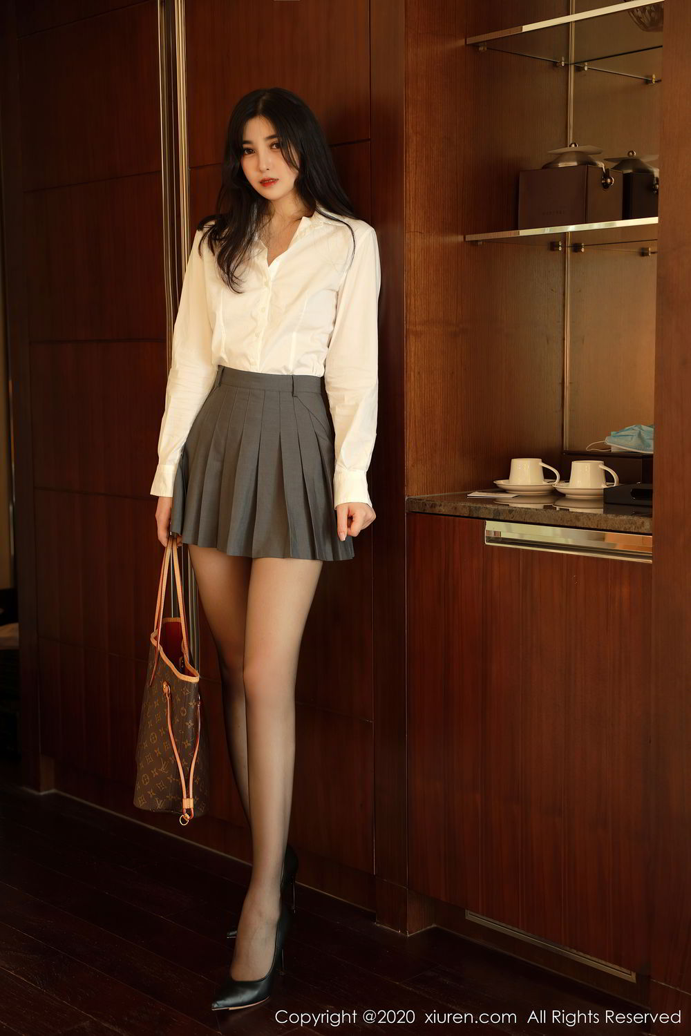 [XiuRen] Vol.2330 Han Jing An 2P, Han Jing An, Tall, Uniform, Xiuren