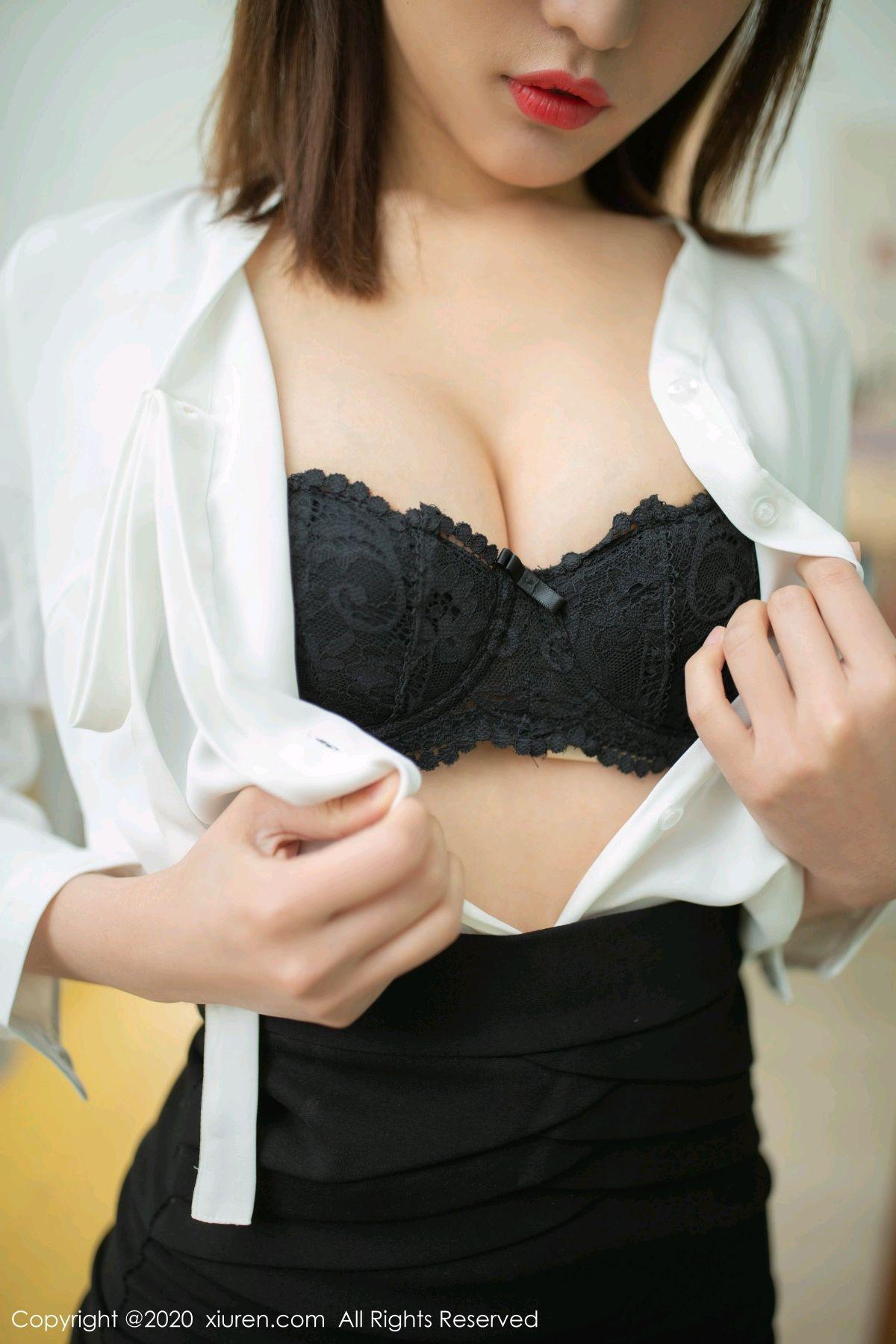 [XiuRen] Vol.2343 Lu Xuan Xuan 28P, Black Silk, Lu Xuan Xuan, Underwear, Xiuren