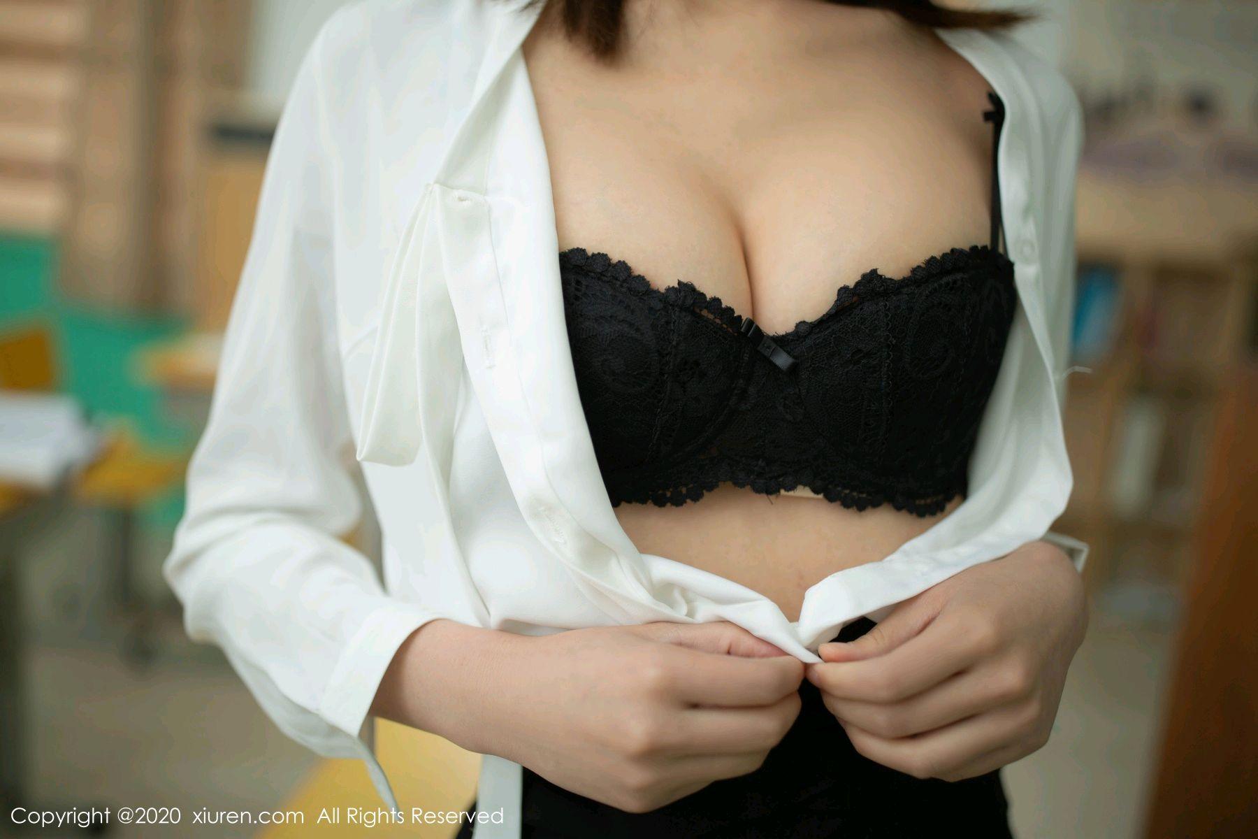 [XiuRen] Vol.2343 Lu Xuan Xuan 29P, Black Silk, Lu Xuan Xuan, Underwear, Xiuren
