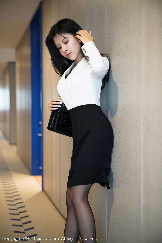 [XiuRen] Vol.2346 Ao Li 1P, Ao Li, Black Silk, Xiuren