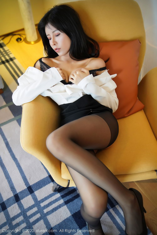 [XiuRen] Vol.2346 Ao Li 20P, Ao Li, Black Silk, Xiuren