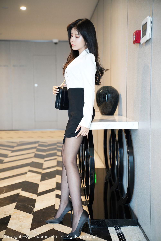 [XiuRen] Vol.2346 Ao Li 38P, Ao Li, Black Silk, Xiuren