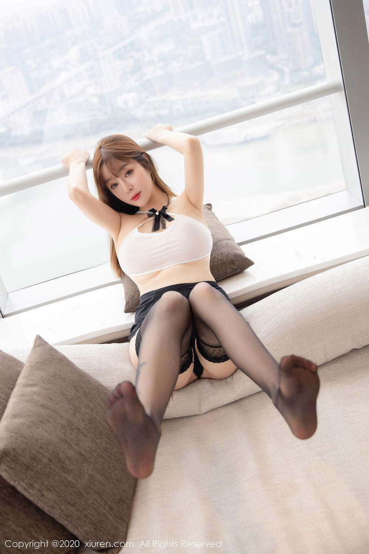[XiuRen] Vol.2358 Wang Yu Chun 25P, Black Silk, Mature, Wang Yu Chun, Xiuren
