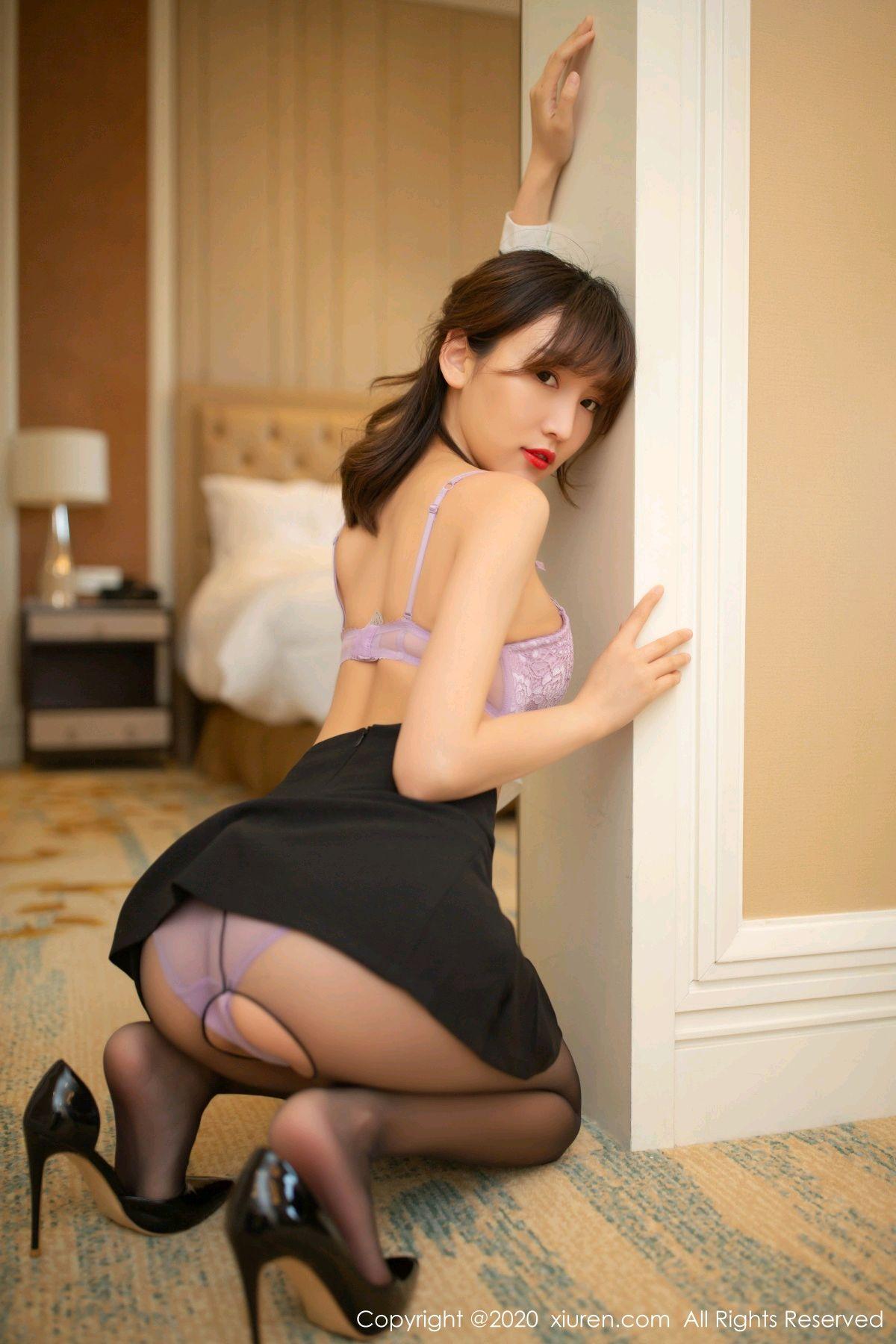 [XiuRen] Vol.236 Lu Xuan Xuan 10P, Black Silk, Lu Xuan Xuan, Underwear, Xiuren