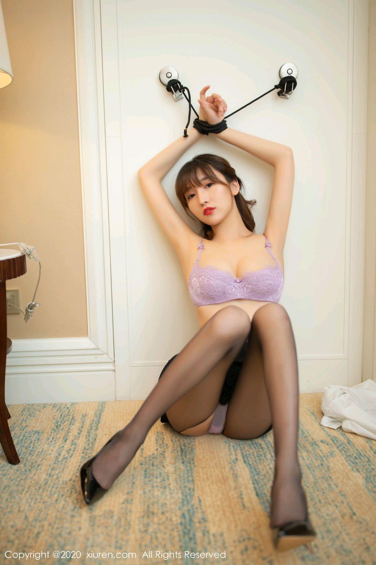 [XiuRen] Vol.236 Lu Xuan Xuan 14P, Black Silk, Lu Xuan Xuan, Underwear, Xiuren