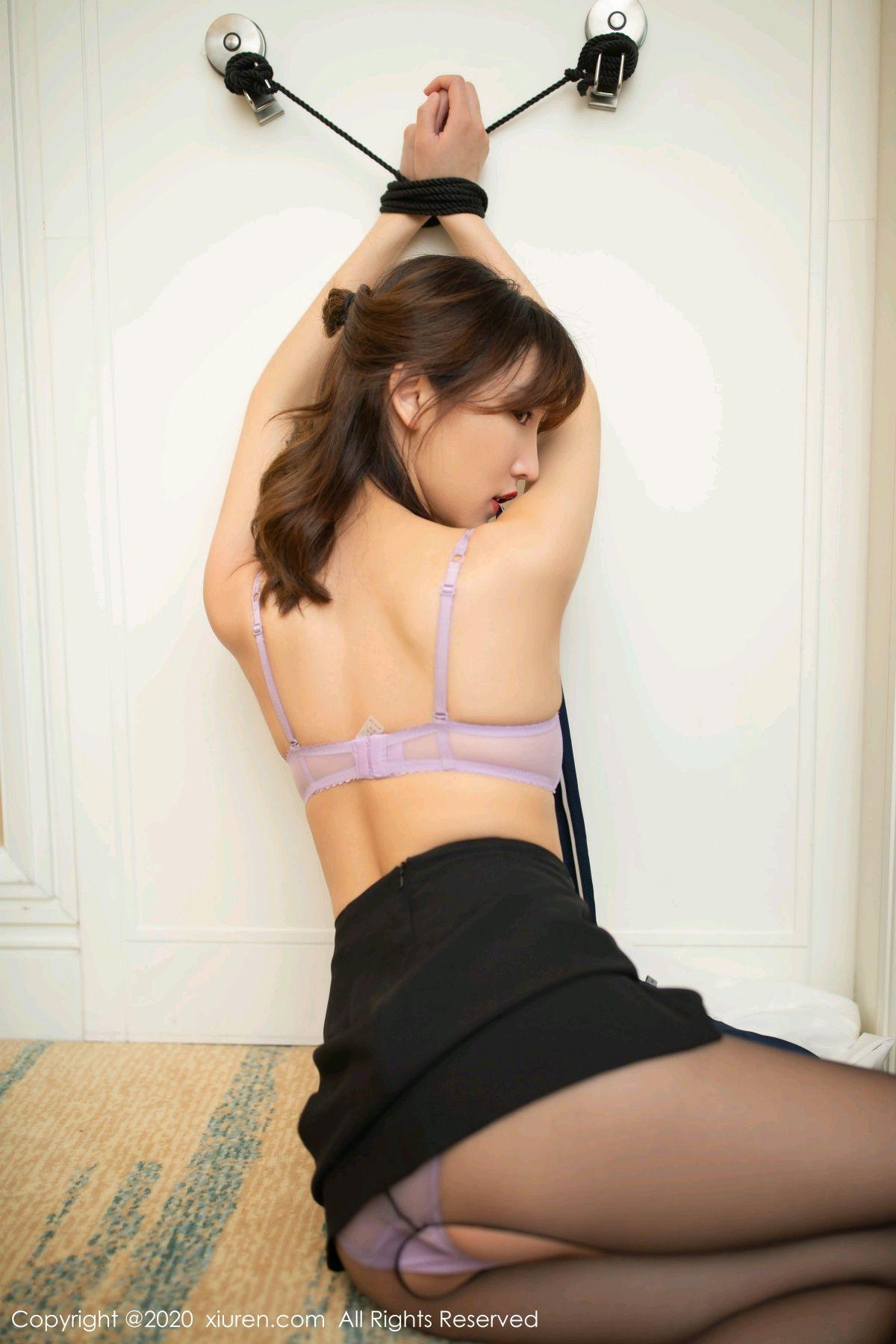 [XiuRen] Vol.236 Lu Xuan Xuan 17P, Black Silk, Lu Xuan Xuan, Underwear, Xiuren