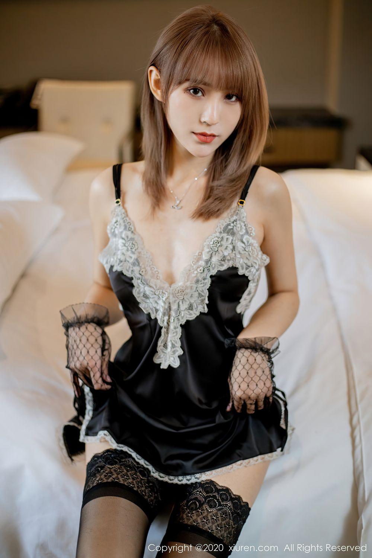 [XiuRen] Vol.2360 Zhou Mu Xi 2P, Temperament, Underwear, Uniform, Xiuren, Zhou Mu Xi