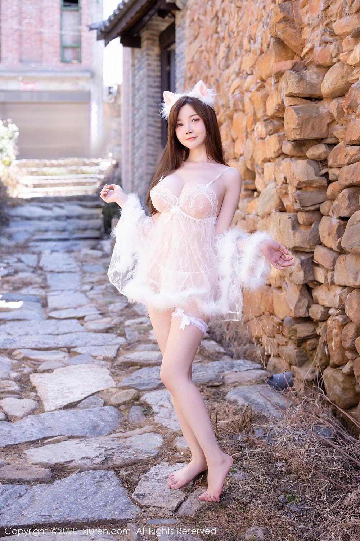 [XiuRen] Vol.2361 Nuo Mei Zi Mini 25P, Mini Da Meng Meng, Outdoor, Xiuren