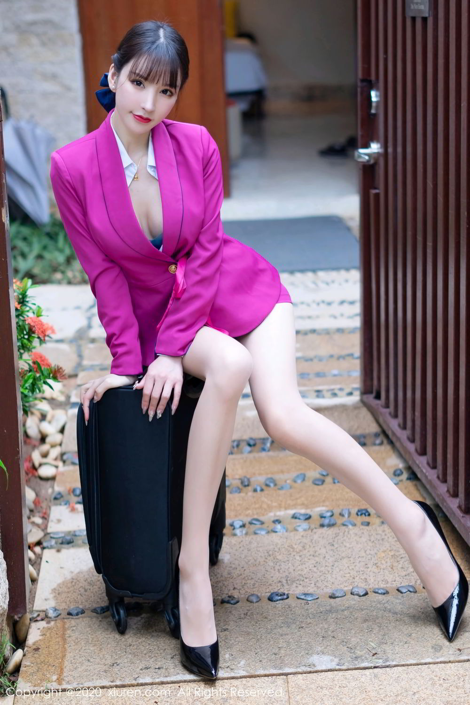 [XiuRen] Vol.2367 Zhou Yu Xi 13P, Stewardess, Underwear, Xiuren, Zhou Yu Xi