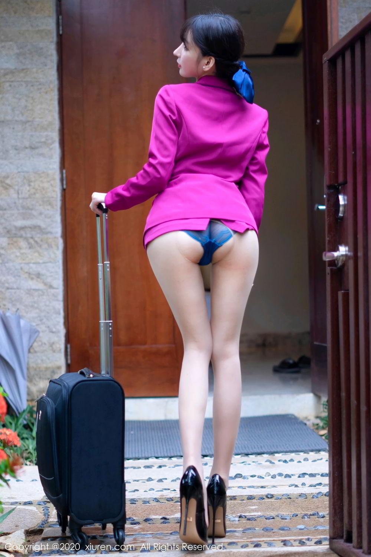 [XiuRen] Vol.2367 Zhou Yu Xi 17P, Stewardess, Underwear, Xiuren, Zhou Yu Xi