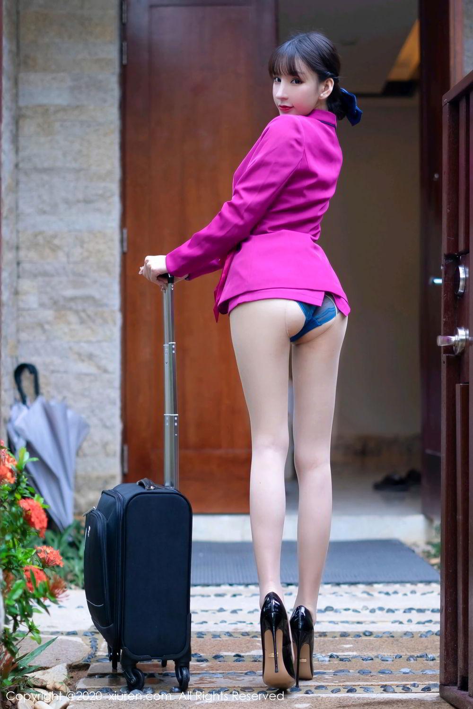 [XiuRen] Vol.2367 Zhou Yu Xi 19P, Stewardess, Underwear, Xiuren, Zhou Yu Xi