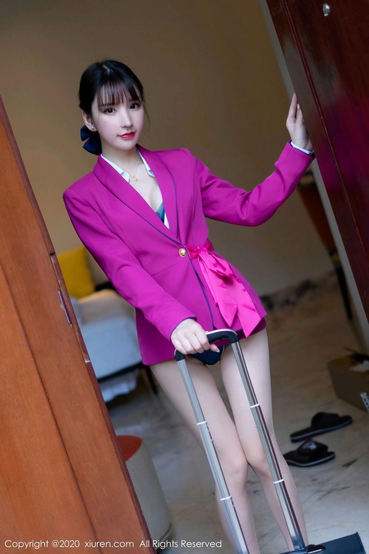 [XiuRen] Vol.2367 Zhou Yu Xi 21P, Stewardess, Underwear, Xiuren, Zhou Yu Xi