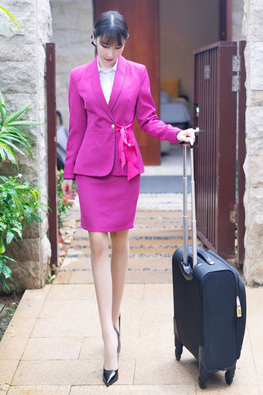 [XiuRen] Vol.2367 Zhou Yu Xi 23P, Stewardess, Underwear, Xiuren, Zhou Yu Xi