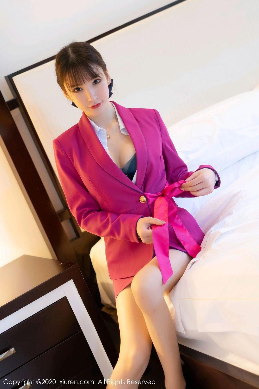 [XiuRen] Vol.2367 Zhou Yu Xi 30P, Stewardess, Underwear, Xiuren, Zhou Yu Xi