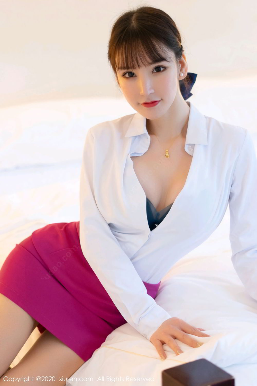 [XiuRen] Vol.2367 Zhou Yu Xi 41P, Stewardess, Underwear, Xiuren, Zhou Yu Xi