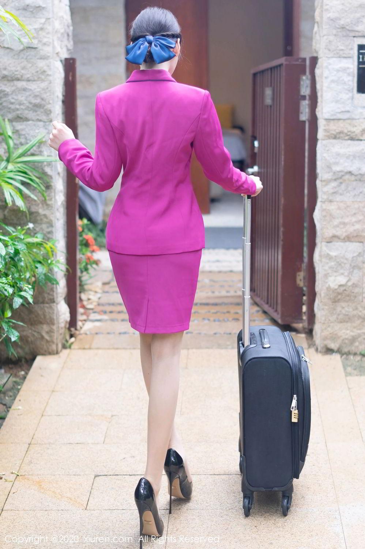 [XiuRen] Vol.2367 Zhou Yu Xi 45P, Stewardess, Underwear, Xiuren, Zhou Yu Xi