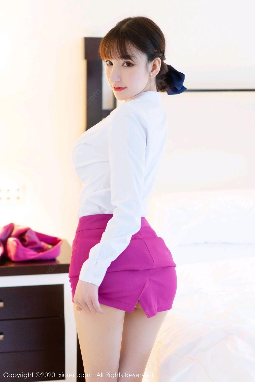 [XiuRen] Vol.2367 Zhou Yu Xi 49P, Stewardess, Underwear, Xiuren, Zhou Yu Xi