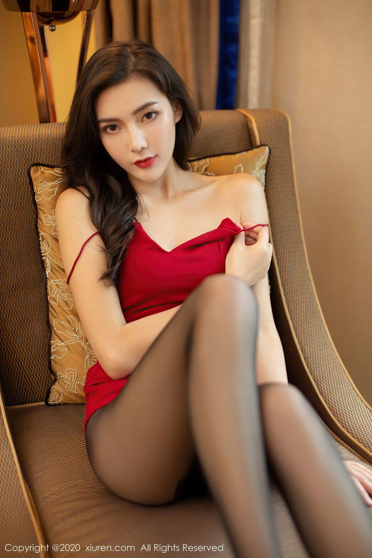 [XiuRen] Vol.2369 Xia Yue 20P, Black Silk, Temperament, Xia Yue, Xiuren