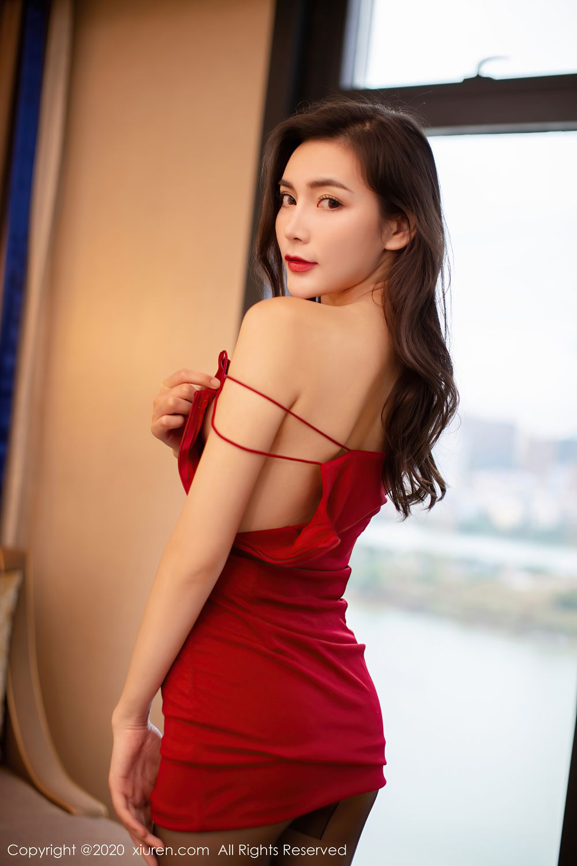 [XiuRen] Vol.2369 Xia Yue 25P, Black Silk, Temperament, Xia Yue, Xiuren