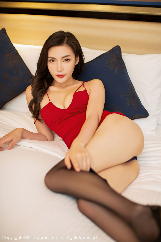 [XiuRen] Vol.2369 Xia Yue 35P, Black Silk, Temperament, Xia Yue, Xiuren
