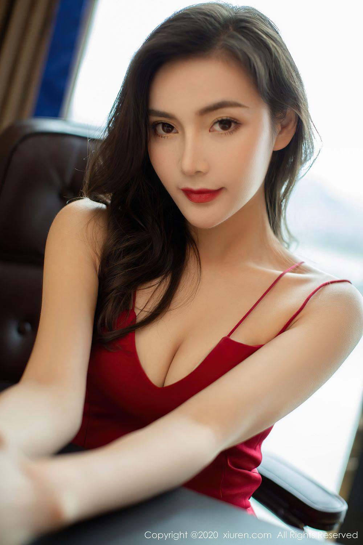 [XiuRen] Vol.2369 Xia Yue 4P, Black Silk, Temperament, Xia Yue, Xiuren