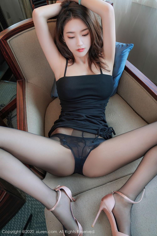 [XiuRen] Vol.2376 Fang Zi Xuan 11P, Black Silk, Mu Qing, Xiuren