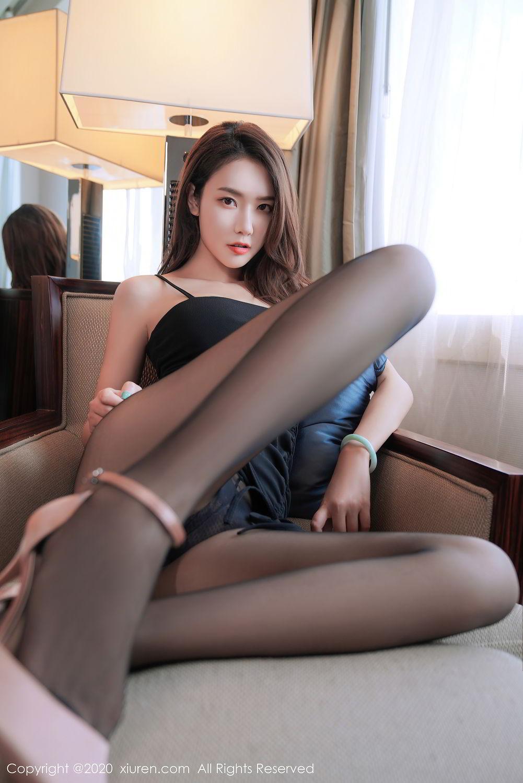 [XiuRen] Vol.2376 Fang Zi Xuan 12P, Black Silk, Mu Qing, Xiuren