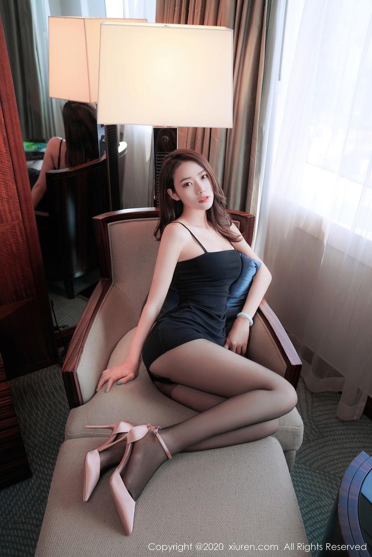 [XiuRen] Vol.2376 Fang Zi Xuan 1P, Black Silk, Mu Qing, Xiuren