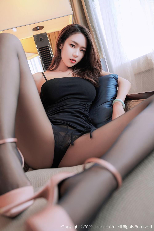 [XiuRen] Vol.2376 Fang Zi Xuan 23P, Black Silk, Mu Qing, Xiuren