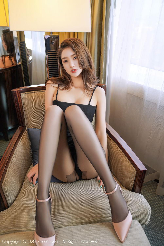 [XiuRen] Vol.2376 Fang Zi Xuan 25P, Black Silk, Mu Qing, Xiuren