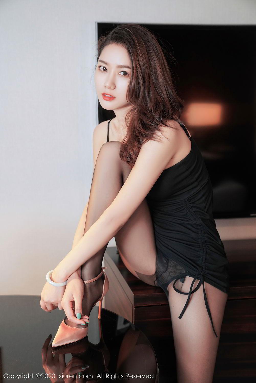 [XiuRen] Vol.2376 Fang Zi Xuan 31P, Black Silk, Mu Qing, Xiuren