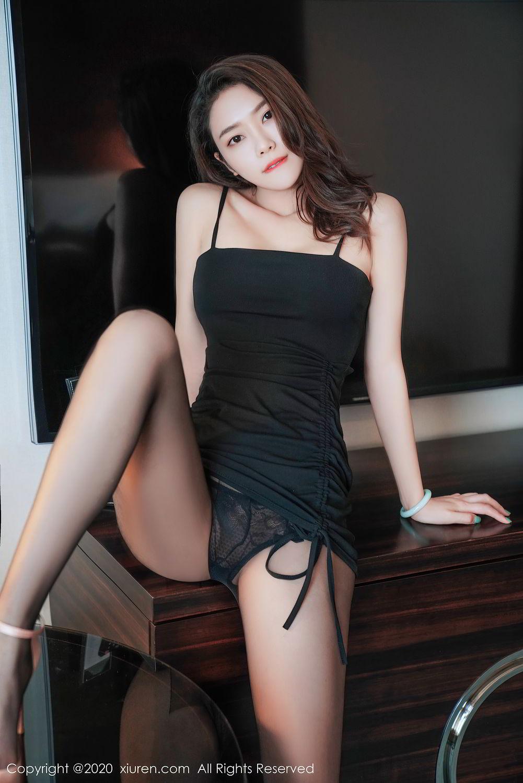 [XiuRen] Vol.2376 Fang Zi Xuan 32P, Black Silk, Mu Qing, Xiuren