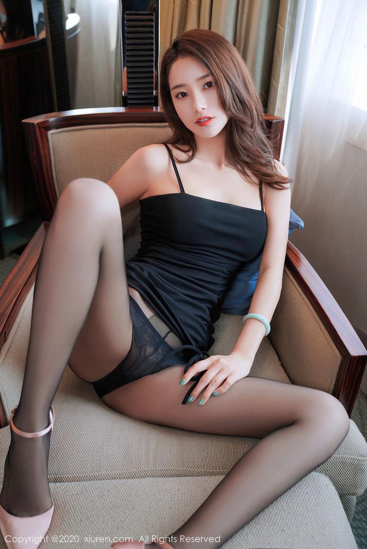 [XiuRen] Vol.2376 Fang Zi Xuan 34P, Black Silk, Mu Qing, Xiuren