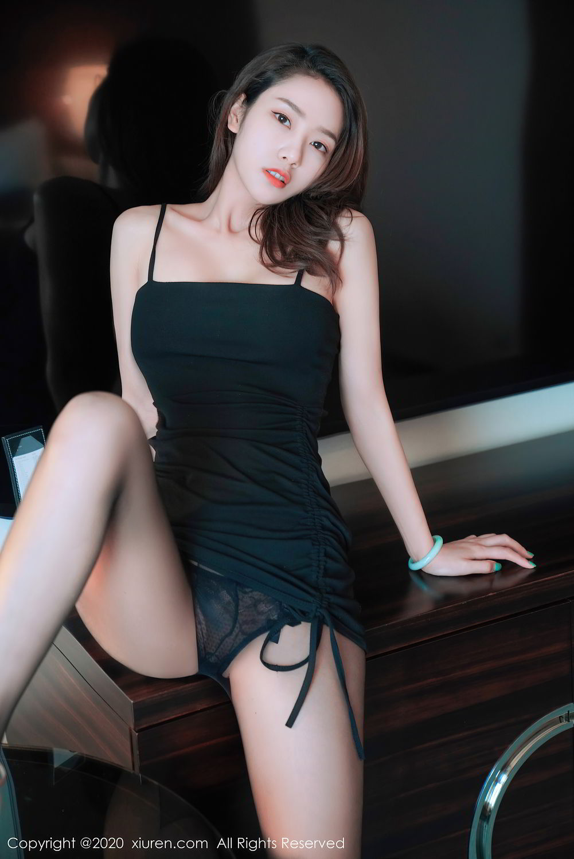 [XiuRen] Vol.2376 Fang Zi Xuan 35P, Black Silk, Mu Qing, Xiuren