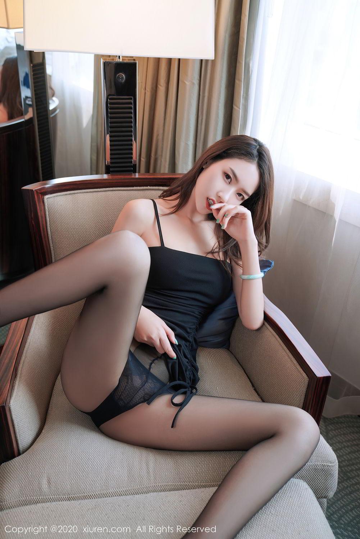 [XiuRen] Vol.2376 Fang Zi Xuan 36P, Black Silk, Mu Qing, Xiuren