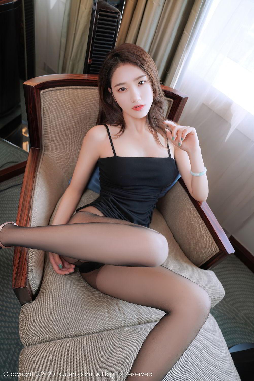[XiuRen] Vol.2376 Fang Zi Xuan 40P, Black Silk, Mu Qing, Xiuren