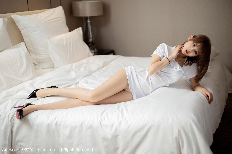 [XiuRen] Vol.2377 Zhou Mu Xi 16P, Nurse, Uniform, Xiuren, Zhou Mu Xi