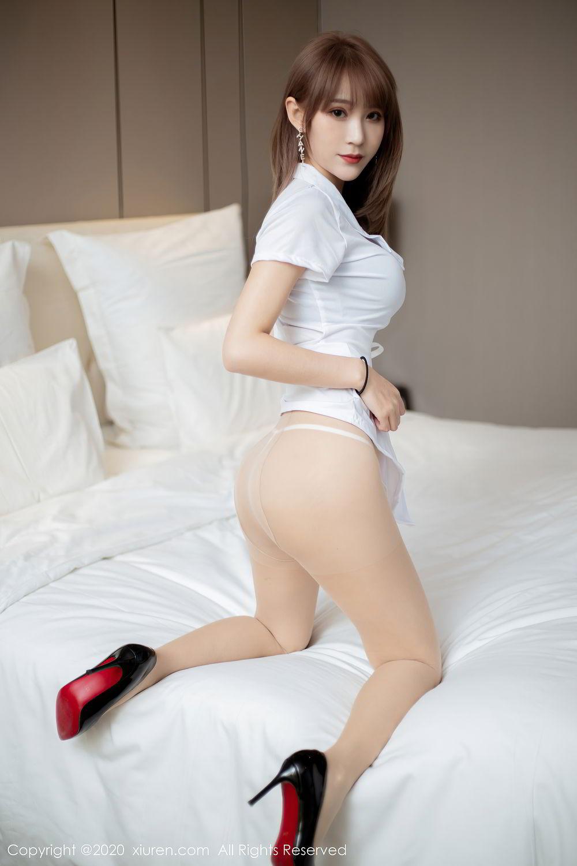 [XiuRen] Vol.2377 Zhou Mu Xi 19P, Nurse, Uniform, Xiuren, Zhou Mu Xi