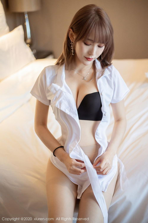 [XiuRen] Vol.2377 Zhou Mu Xi 24P, Nurse, Uniform, Xiuren, Zhou Mu Xi