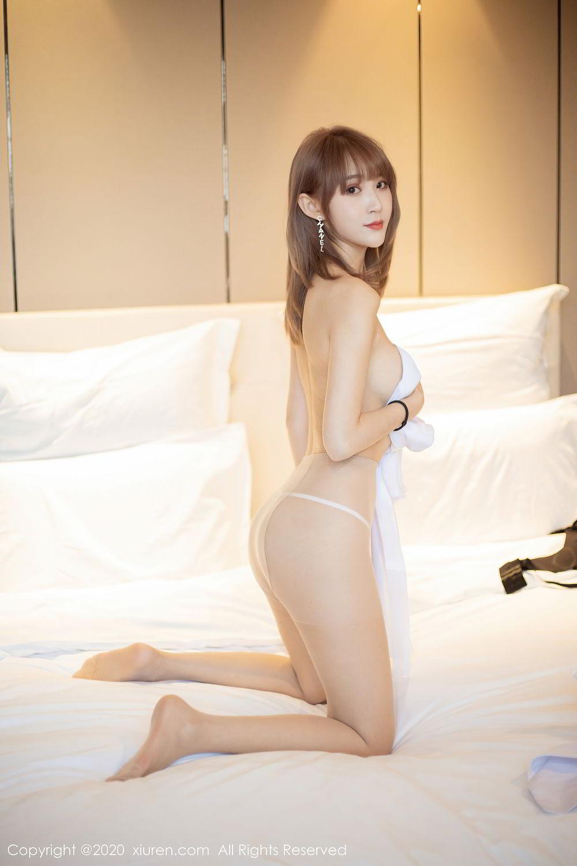 [XiuRen] Vol.2377 Zhou Mu Xi 31P, Nurse, Uniform, Xiuren, Zhou Mu Xi
