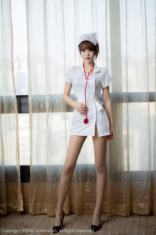 [XiuRen] Vol.2377 Zhou Mu Xi 34P, Nurse, Uniform, Xiuren, Zhou Mu Xi