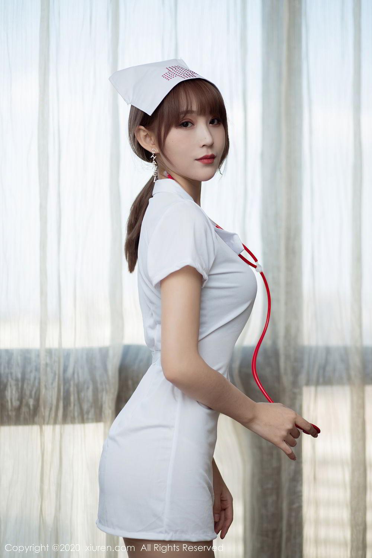 [XiuRen] Vol.2377 Zhou Mu Xi 45P, Nurse, Uniform, Xiuren, Zhou Mu Xi