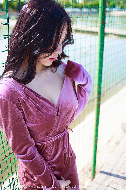 [XiuRen] Vol.2380 Xia Xue Ai 10P, Outdoor, Uniform, Xia Xue Ai, Xiuren