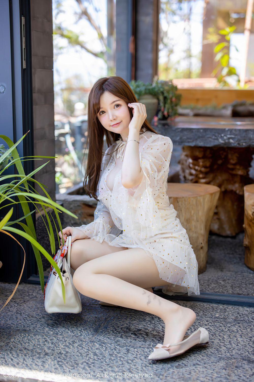 [XiuRen] Vol.2382 Nuo Mei Zi 11P, Mini Da Meng Meng, Outdoor, Xiuren