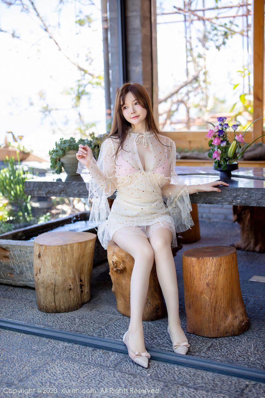 [XiuRen] Vol.2382 Nuo Mei Zi 1P, Mini Da Meng Meng, Outdoor, Xiuren