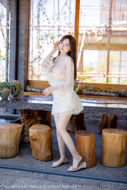 [XiuRen] Vol.2382 Nuo Mei Zi 3P, Mini Da Meng Meng, Outdoor, Xiuren