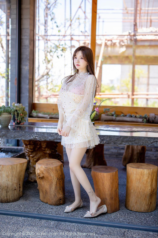 [XiuRen] Vol.2382 Nuo Mei Zi 4P, Mini Da Meng Meng, Outdoor, Xiuren
