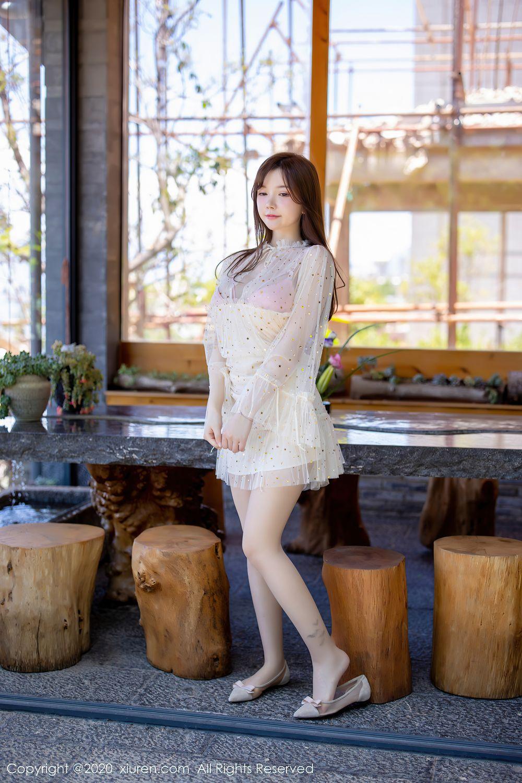 [XiuRen] Vol.2382 Nuo Mei Zi 5P, Mini Da Meng Meng, Outdoor, Xiuren